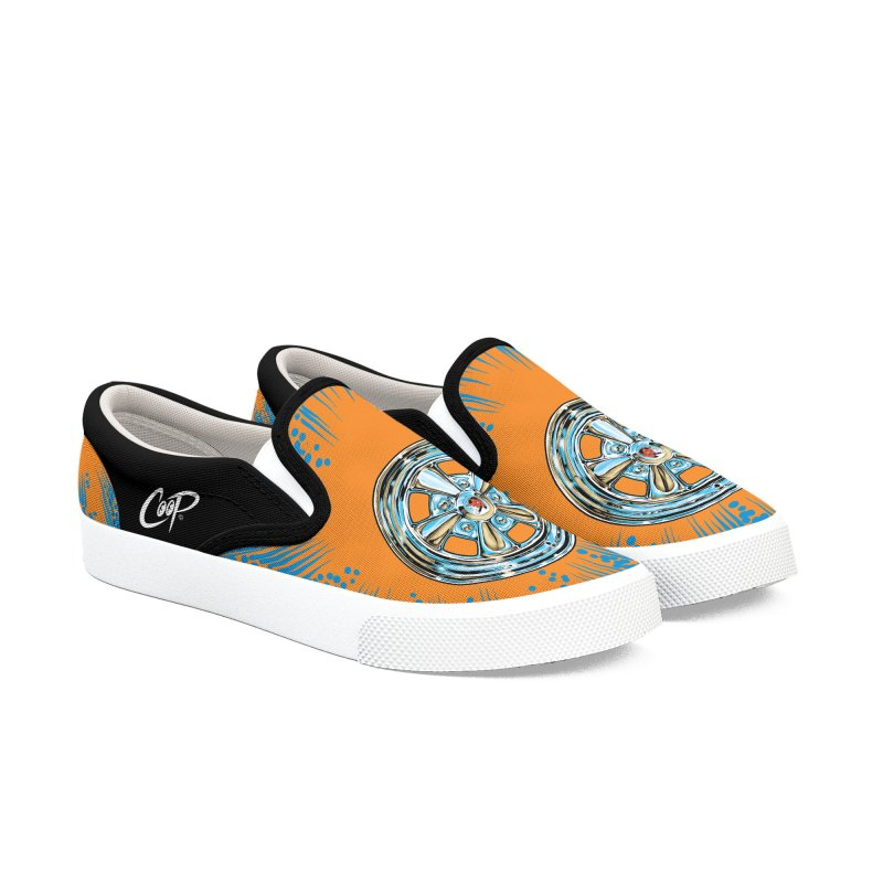SUPER SPORT in Men's Slip-On Shoes by artofcoop's Artist Shop