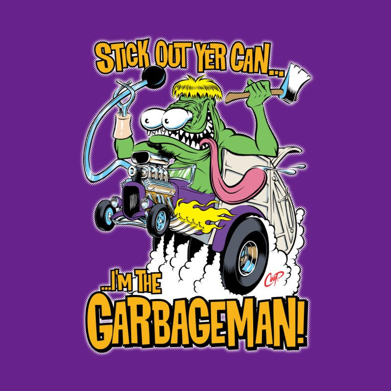 GARBAGEMAN Men's T-Shirt by The Art of Coop
