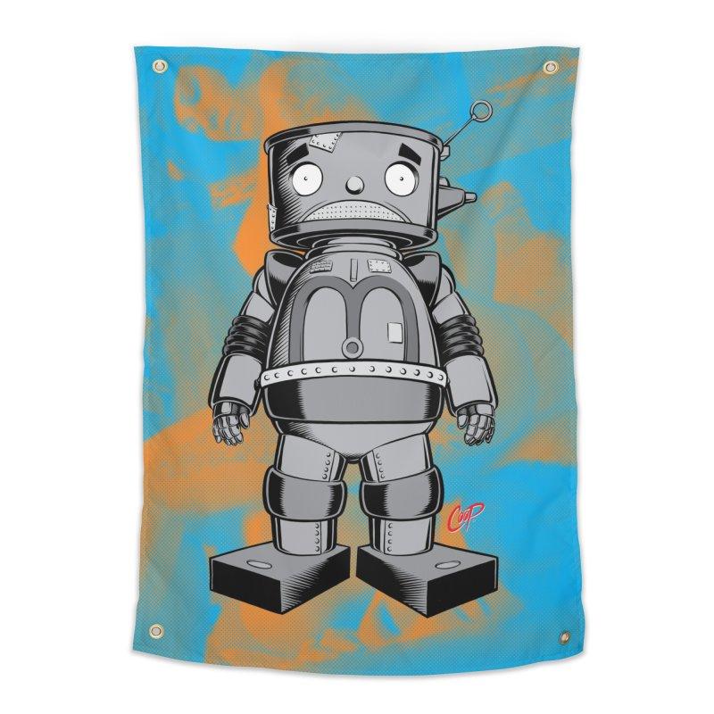 CRAPBOT in Tapestry by artofcoop's Artist Shop