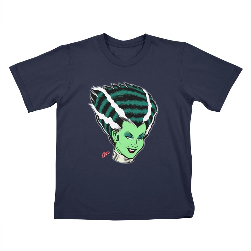 BRIDE'S HEAD REVISITED Kids Toddler T-Shirt by artofcoop's Artist Shop