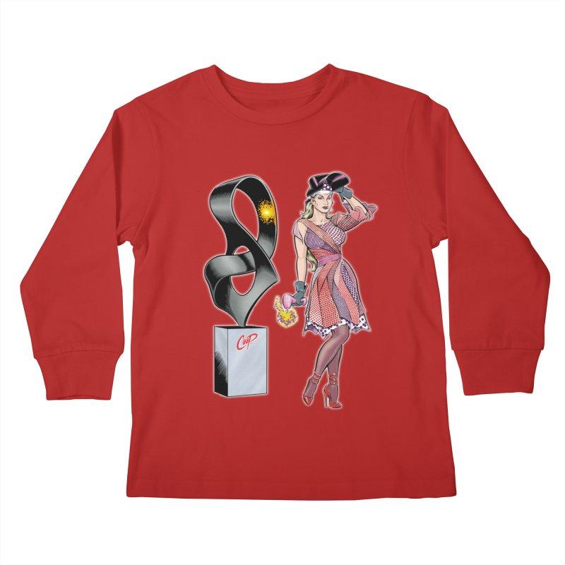 THE WELDER Kids Longsleeve T-Shirt by artofcoop's Artist Shop