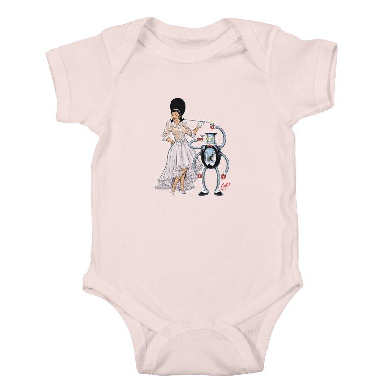 ROBUTLER Kids Baby Bodysuit by artofcoop's Artist Shop