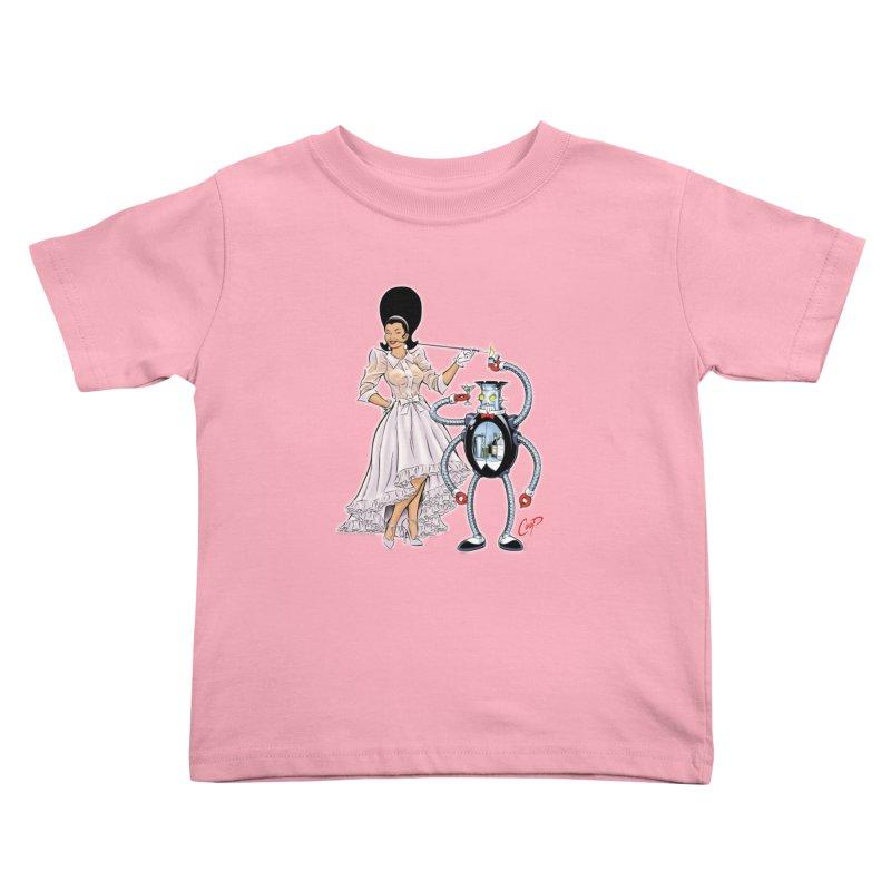 ROBUTLER Kids Toddler T-Shirt by artofcoop's Artist Shop