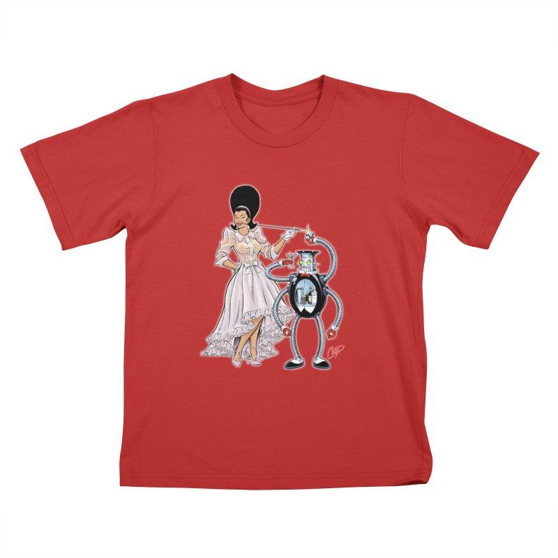 ROBUTLER Kids T-Shirt by artofcoop's Artist Shop