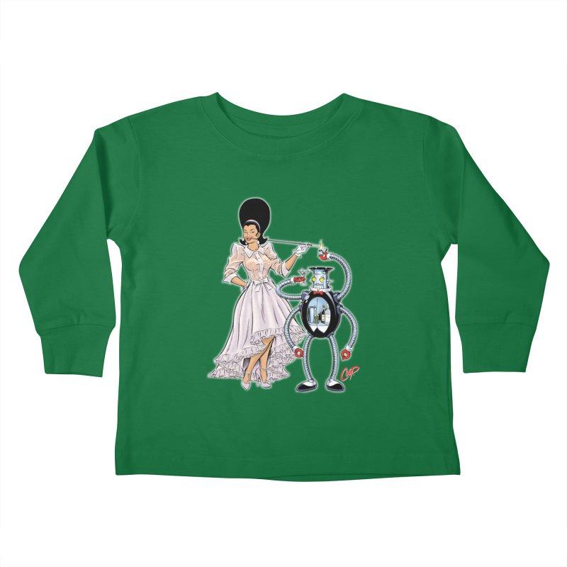 ROBUTLER Kids Toddler Longsleeve T-Shirt by artofcoop's Artist Shop