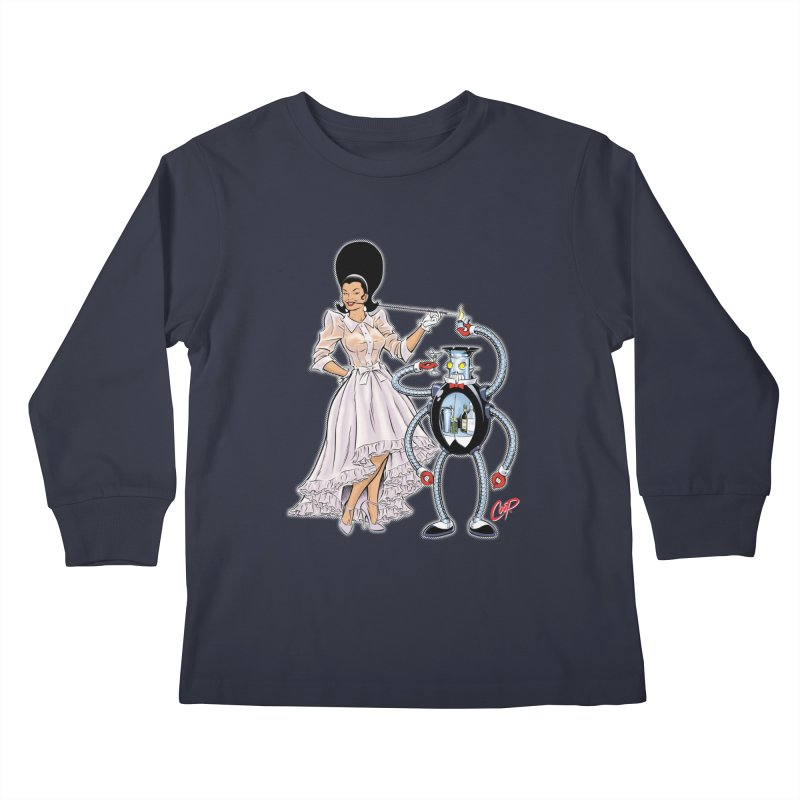 ROBUTLER Kids Longsleeve T-Shirt by artofcoop's Artist Shop