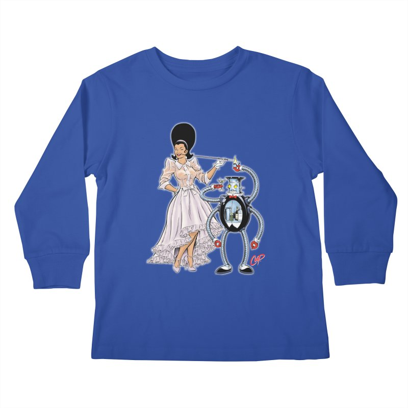 ROBUTLER Kids Longsleeve T-Shirt by artofcoop's Artist Shop