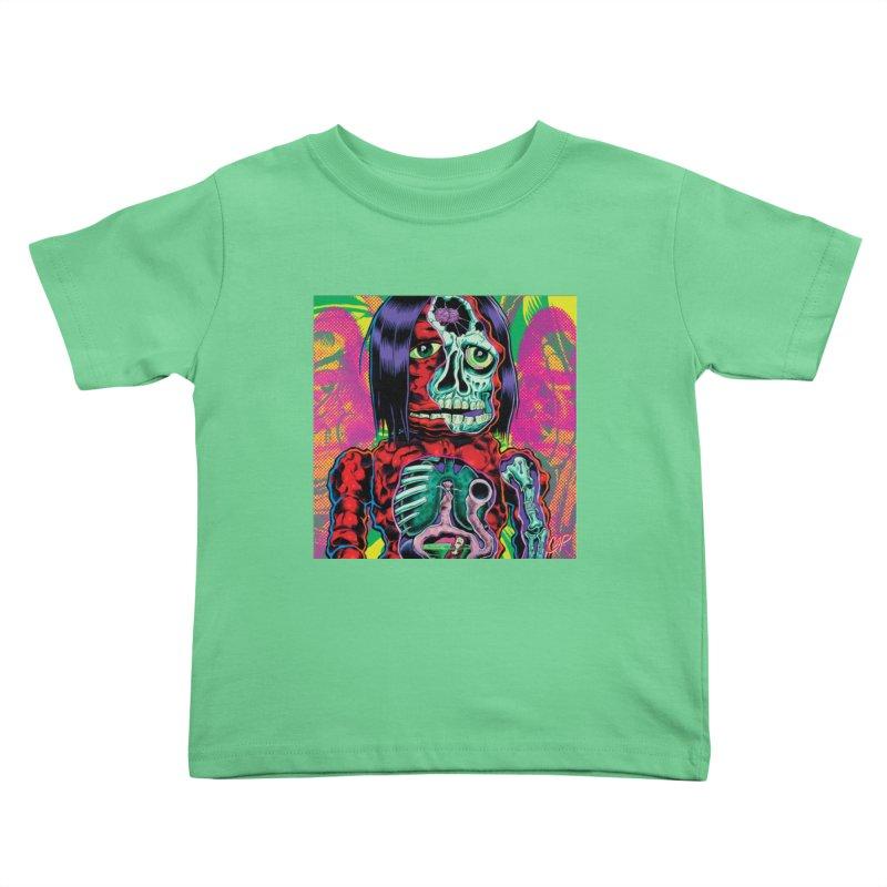 VIOLENT CAVEMAN Kids Toddler T-Shirt by artofcoop's Artist Shop