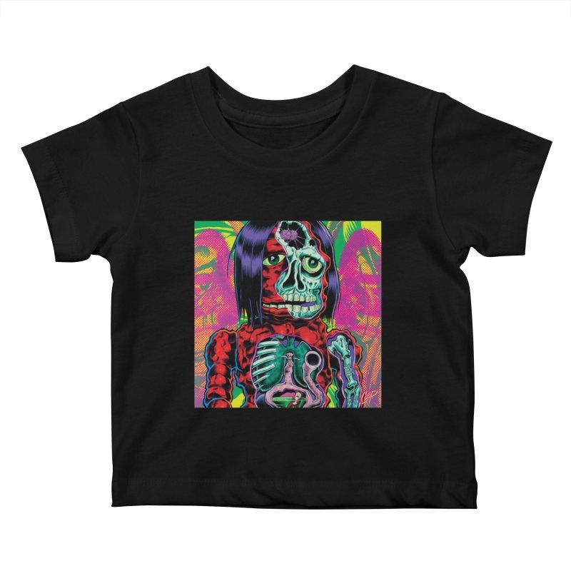 VIOLENT CAVEMAN Kids Baby T-Shirt by artofcoop's Artist Shop