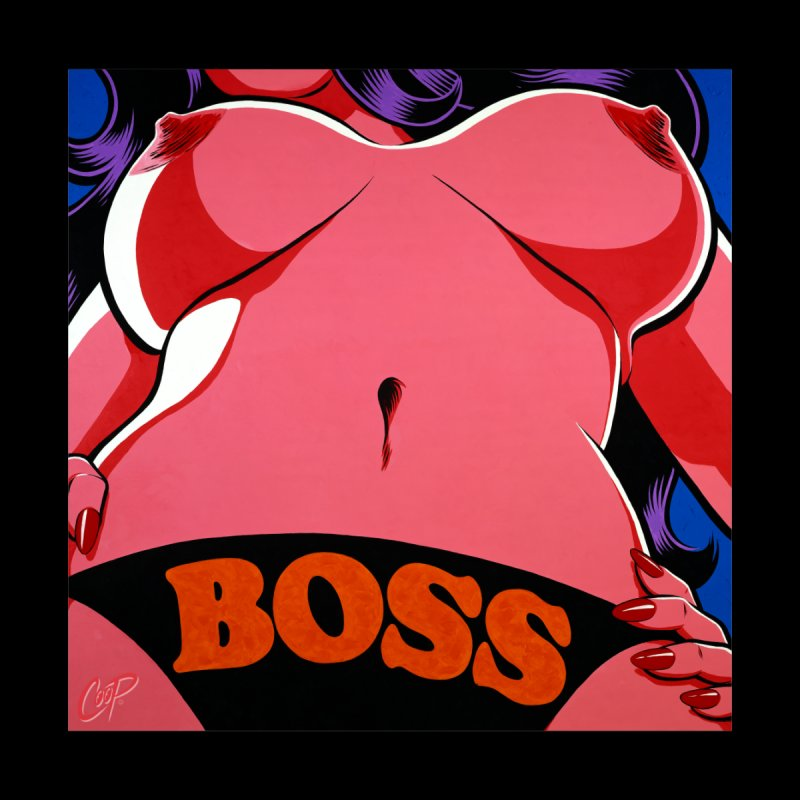 BOSS Home Tapestry by The Art of Coop