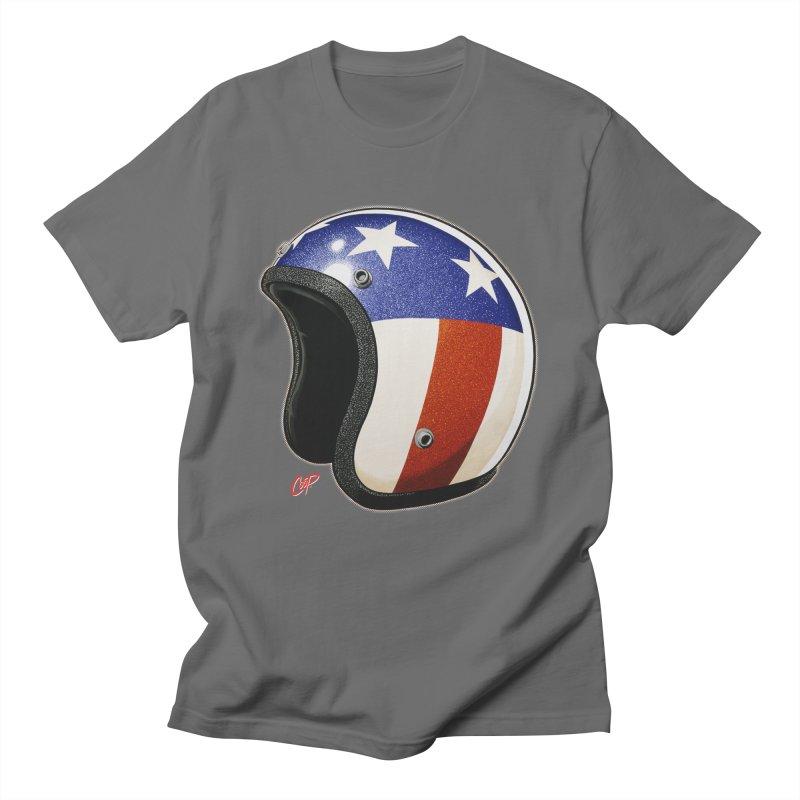HELMET II Men's T-Shirt by The Art of Coop