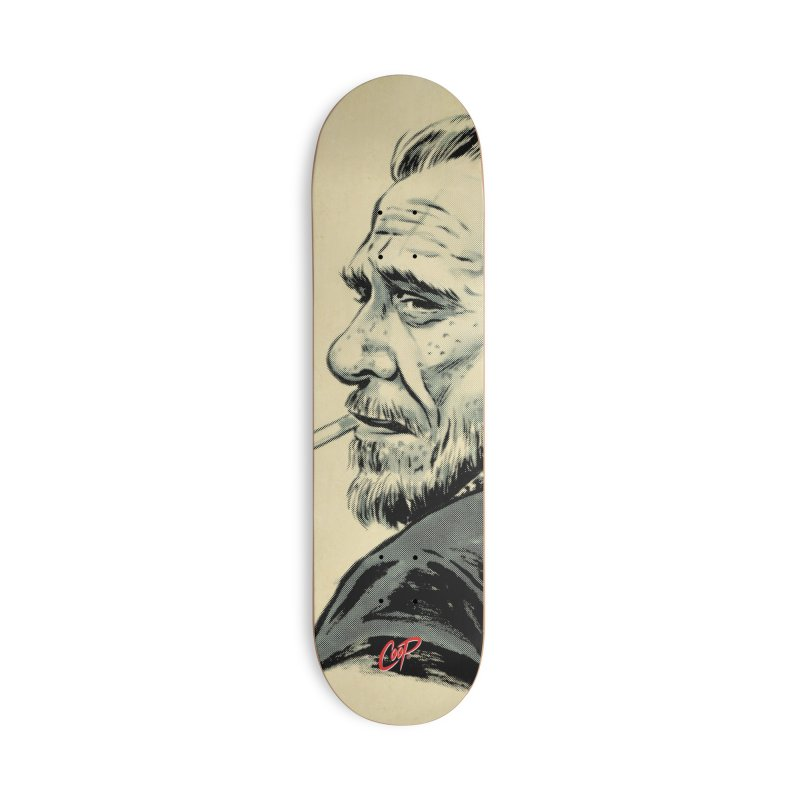 THE POET Accessories Skateboard by The Art of Coop