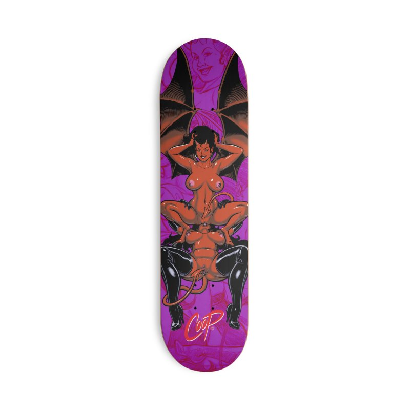 WINGED EROS Accessories Skateboard by The Art of Coop