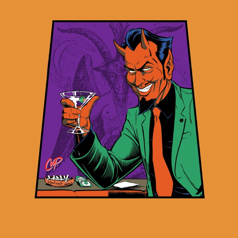 MARTINI DEVIL by artofcoop's Artist Shop