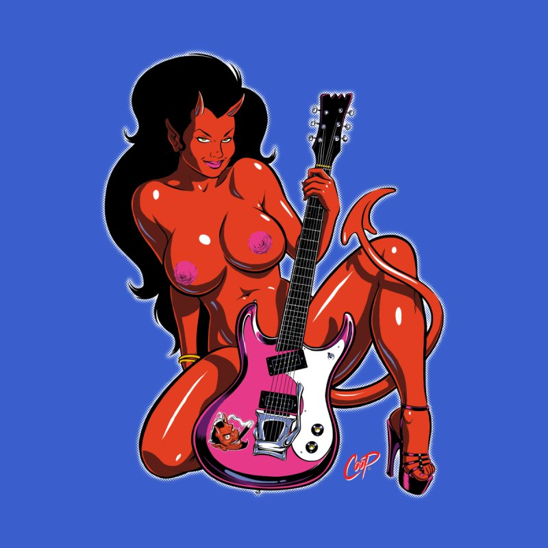 GUITAR GIRL by The Art of Coop