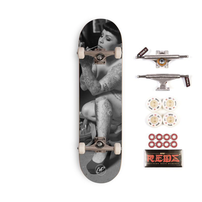 GIGI ARROYO Accessories Complete - Pro Skateboard by The Art of Coop