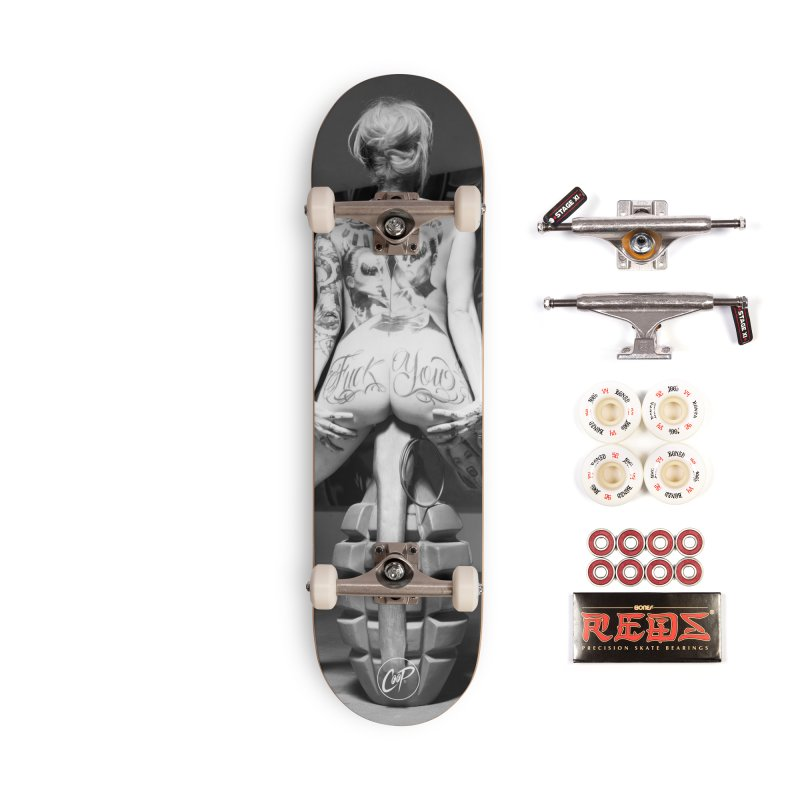 VERONICASIXXX Accessories Complete - Pro Skateboard by The Art of Coop