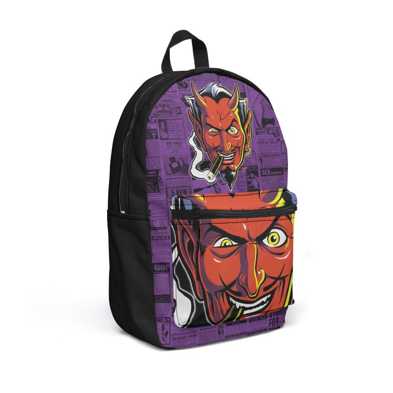 SMUT DEVIL Accessories Backpack Bag by The Art of Coop