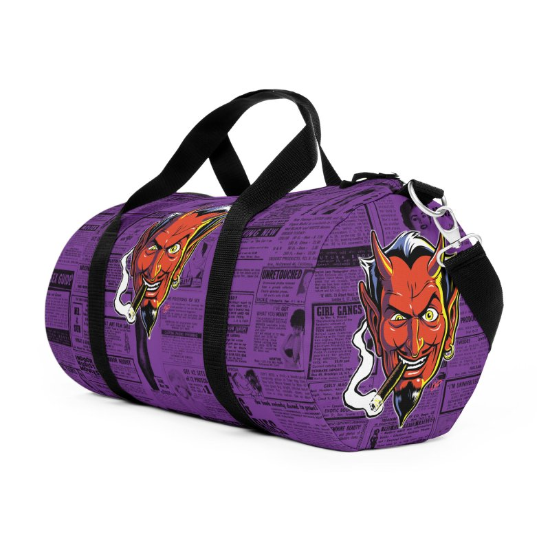 SMUT DEVIL Accessories Bag by The Art of Coop
