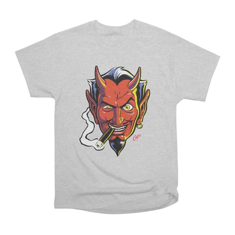 SMUT DEVIL Men's T-Shirt by The Art of Coop