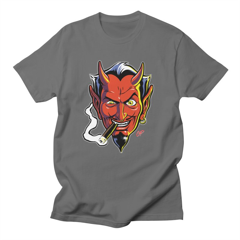 SMUT DEVIL Men's T-Shirt by The Art of Coop