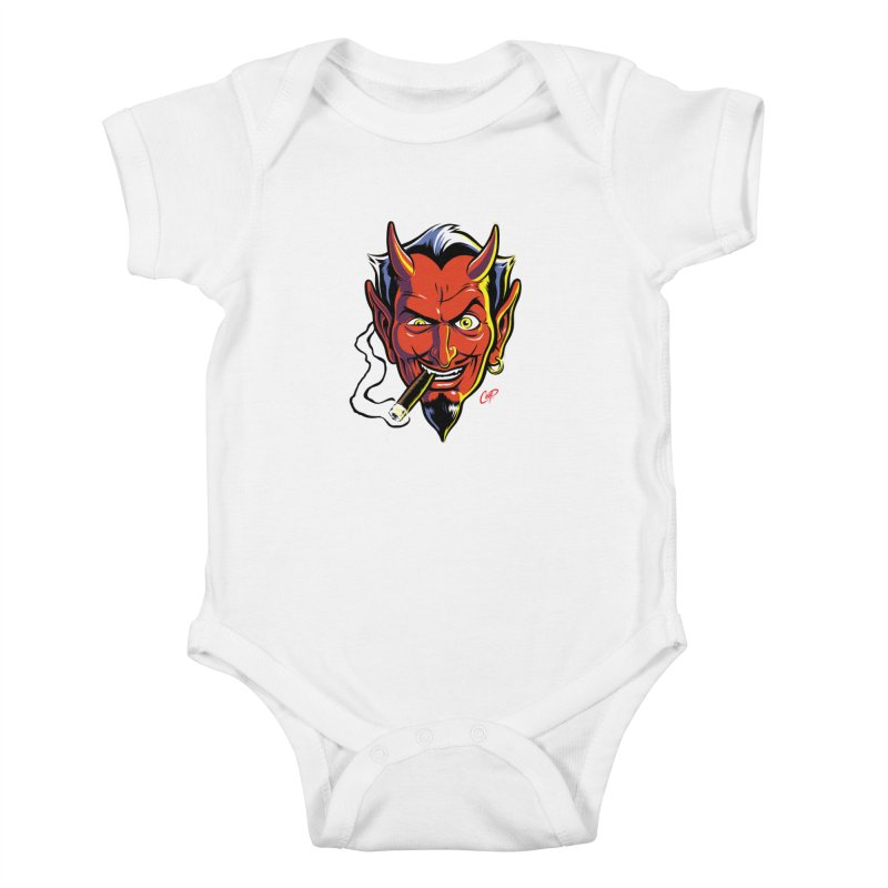 SMUT DEVIL Kids Baby Bodysuit by artofcoop's Artist Shop