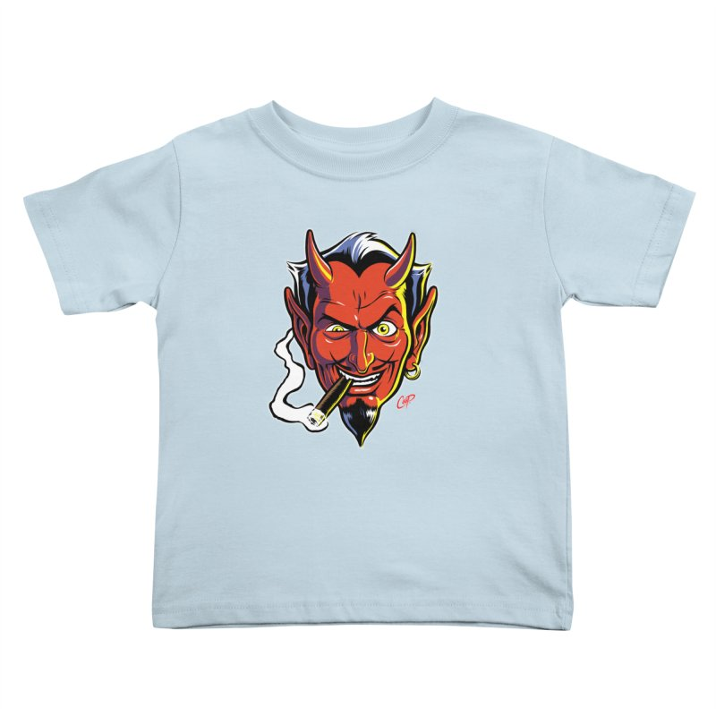 SMUT DEVIL Kids Toddler T-Shirt by artofcoop's Artist Shop