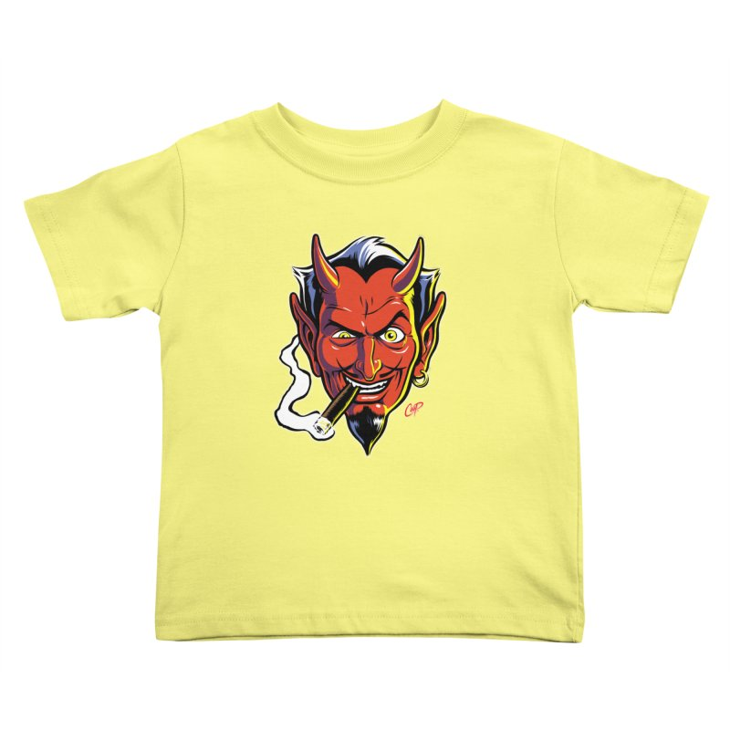 SMUT DEVIL Kids Toddler T-Shirt by artofcoop's Artist Shop