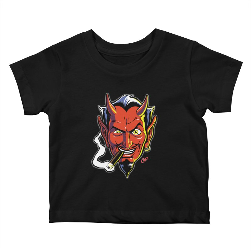 SMUT DEVIL Kids Baby T-Shirt by artofcoop's Artist Shop
