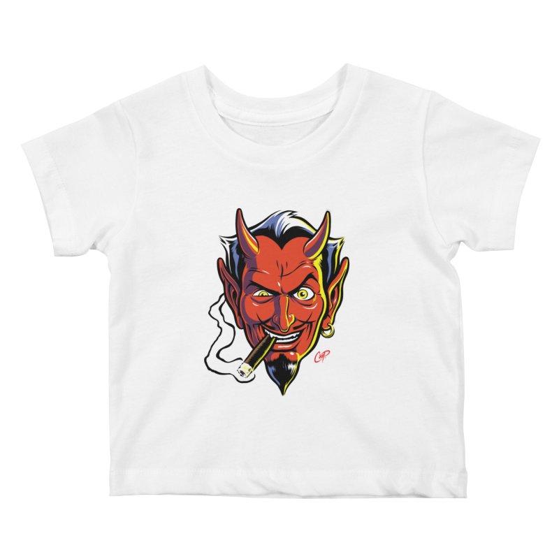 SMUT DEVIL Kids Baby T-Shirt by artofcoop's Artist Shop
