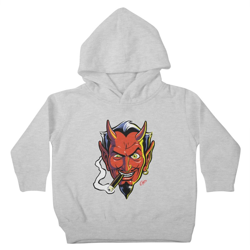 SMUT DEVIL Kids Toddler Pullover Hoody by The Art of Coop