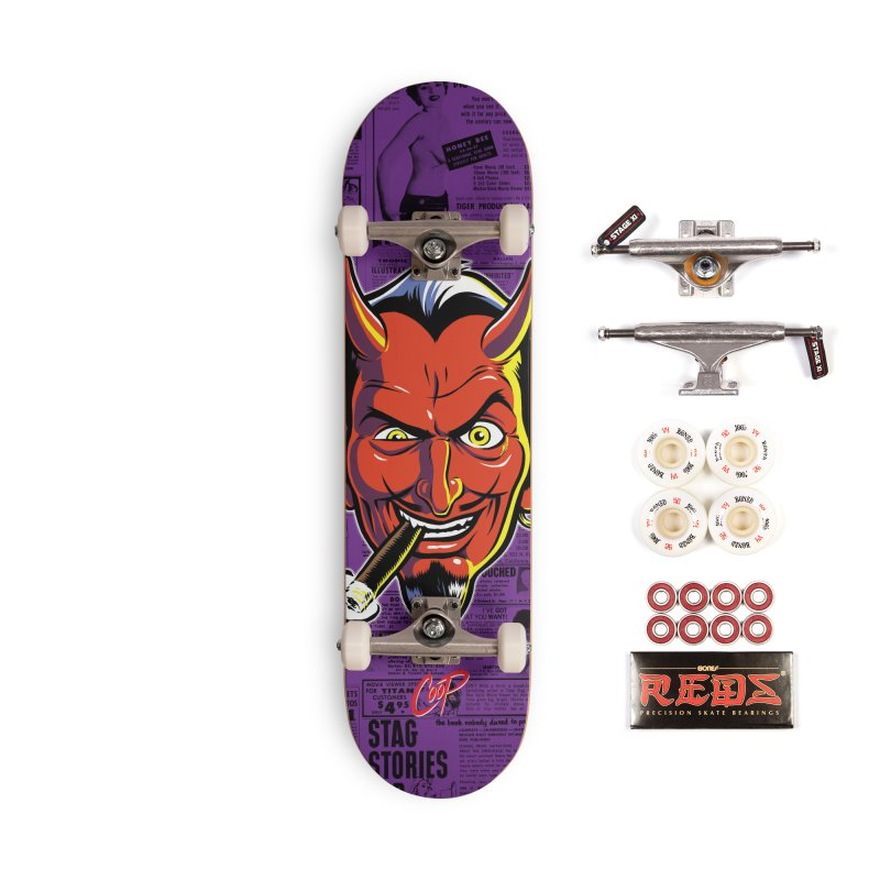SMUT DEVIL Accessories Complete - Pro Skateboard by The Art of Coop
