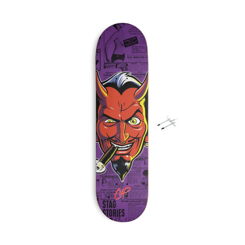 SMUT DEVIL Accessories With Hanging Hardware Skateboard by The Art of Coop