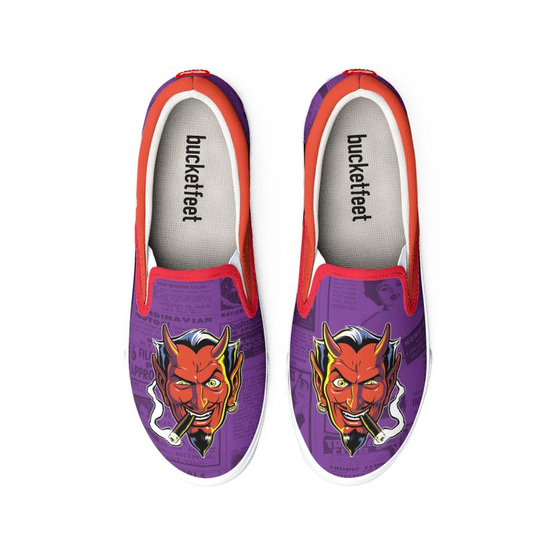 SMUT DEVIL Women's Shoes by The Art of Coop