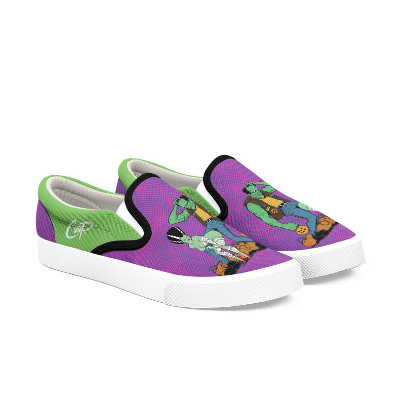 TRICK OR TREAT Men's Slip-On Shoes by The Art of Coop