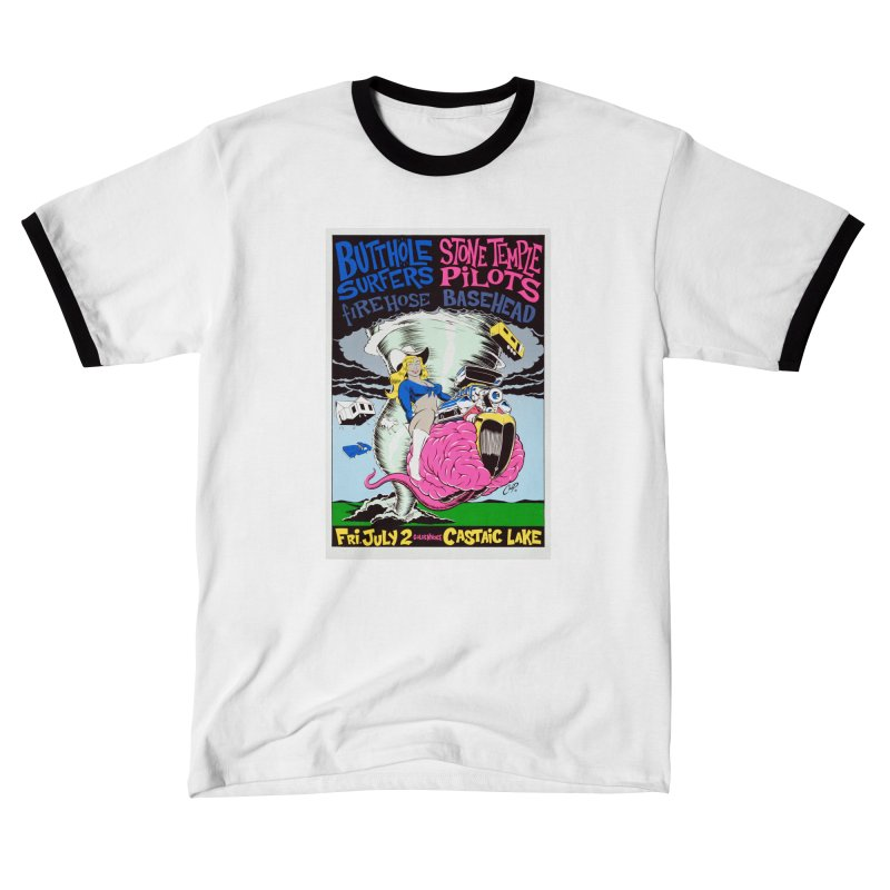 TORNADO COWGIRL Men's T-Shirt by The Art of Coop