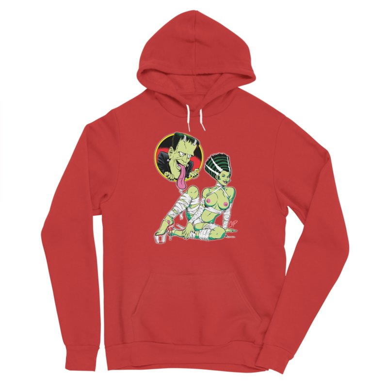 BRIDE STRIPPED BARE Men's Pullover Hoody by The Art of Coop