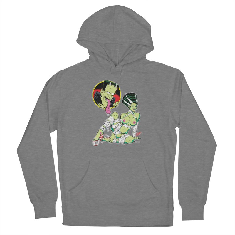 BRIDE STRIPPED BARE Women's Pullover Hoody by The Art of Coop