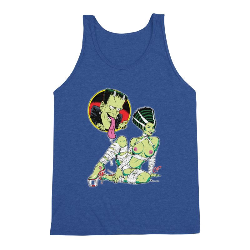 BRIDE STRIPPED BARE Men's Tank by The Art of Coop