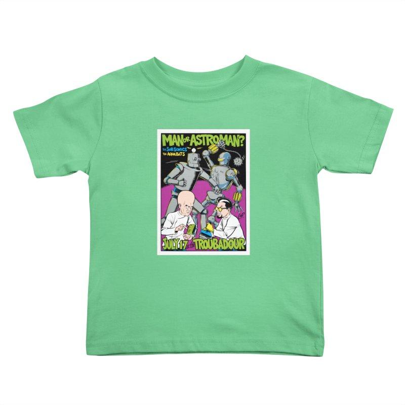 ROBOT BATTLE Kids Toddler T-Shirt by artofcoop's Artist Shop