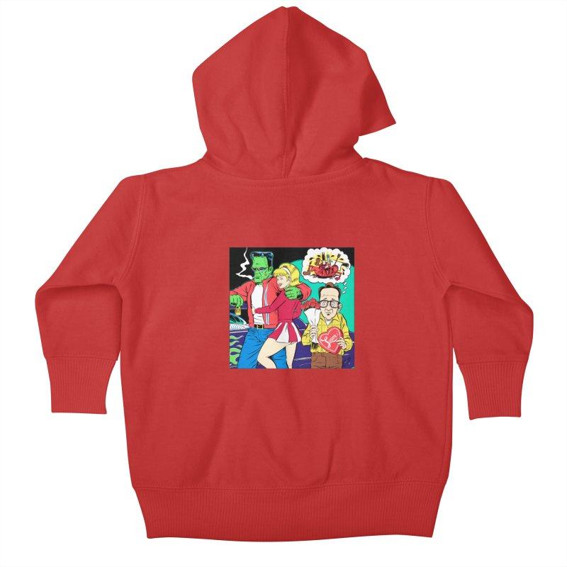 LOSER Kids Baby Zip-Up Hoody by artofcoop's Artist Shop
