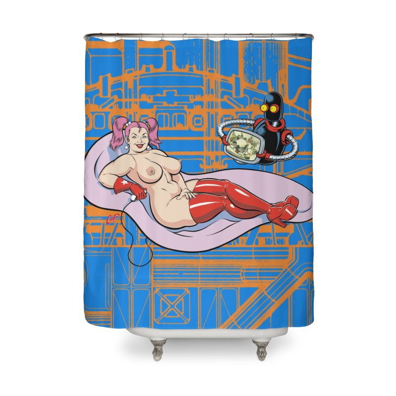 OLYMPIA 3000 Home Shower Curtain by artofcoop's Artist Shop