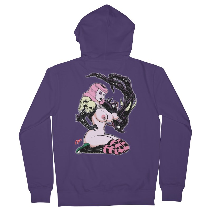BIOMECH BABY Women's French Terry Zip-Up Hoody by The Art of Coop