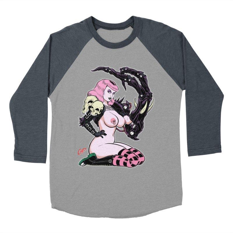 BIOMECH BABY Women's Baseball Triblend T-Shirt by artofcoop's Artist Shop