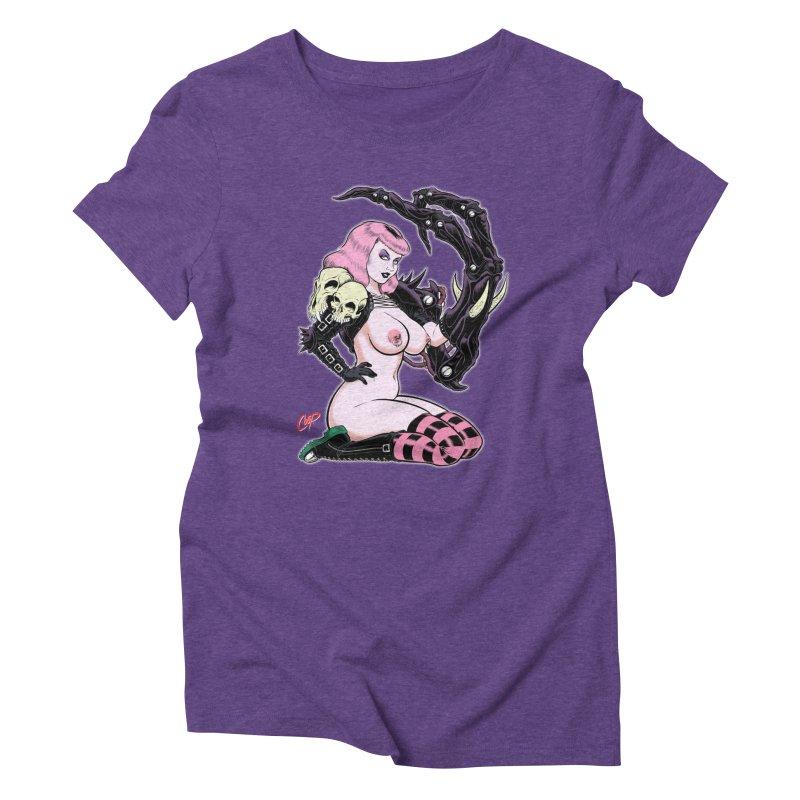 BIOMECH BABY Women's Triblend T-shirt by artofcoop's Artist Shop