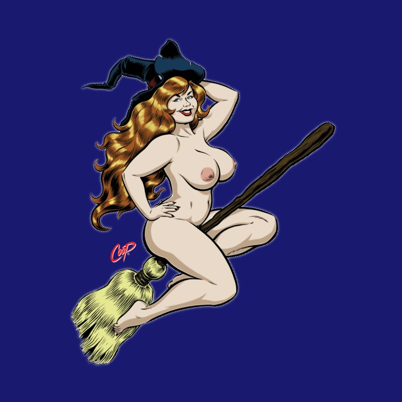 BROOMSTICK WITCH by The Art of Coop