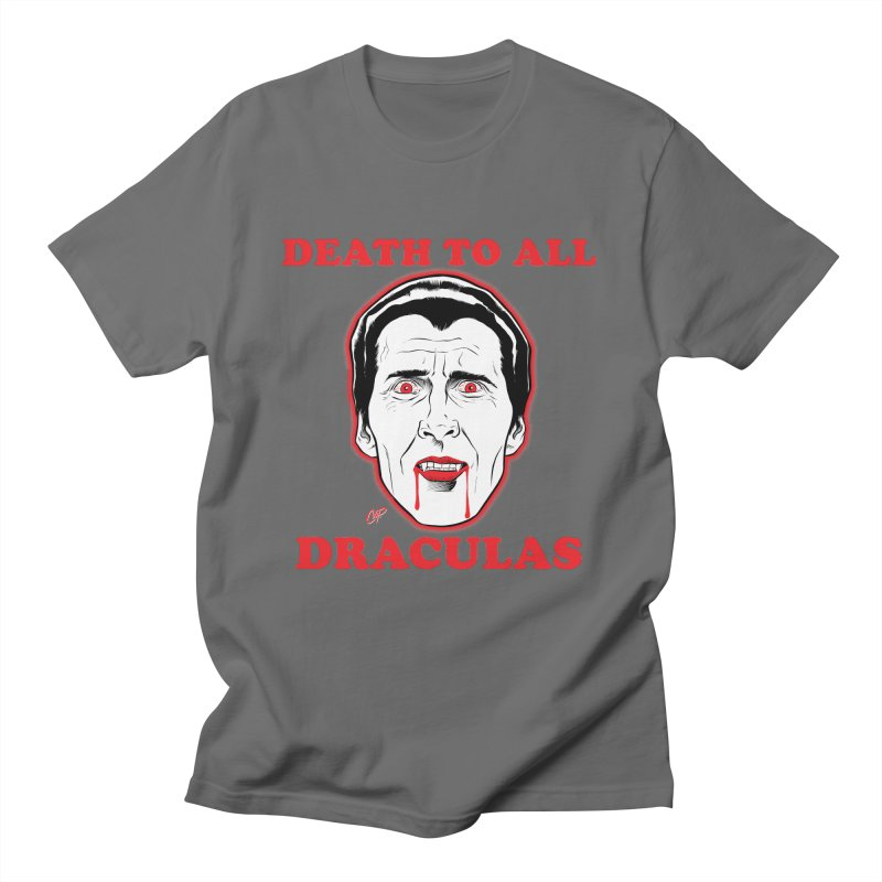 DEATH TO ALL DRACULAS Men's T-Shirt by The Art of Coop