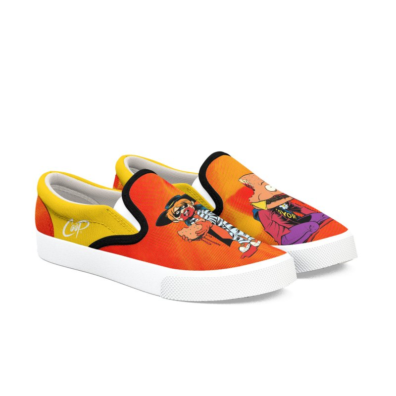 DESIRE FULFILLED in Men's Slip-On Shoes by artofcoop's Artist Shop