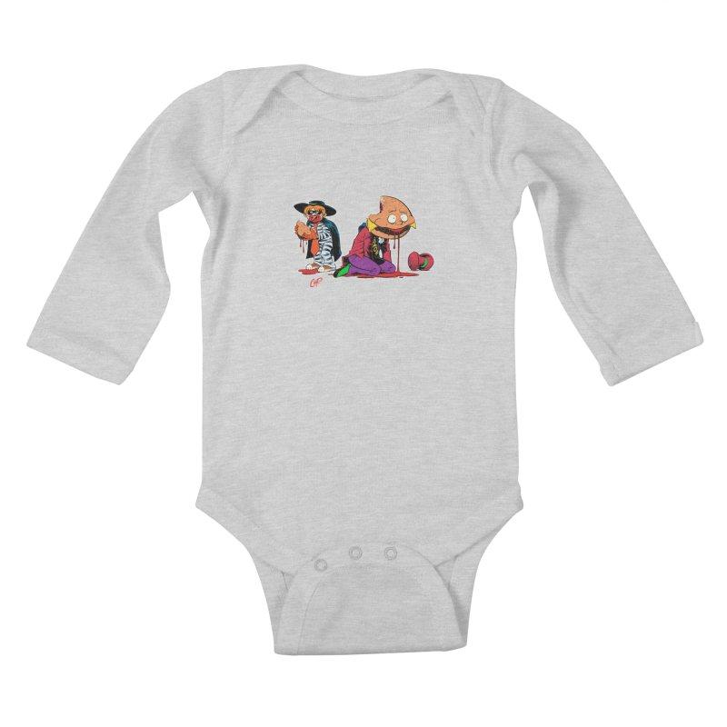 DESIRE FULFILLED Kids Baby Longsleeve Bodysuit by The Art of Coop
