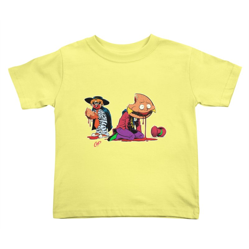 DESIRE FULFILLED Kids Toddler T-Shirt by artofcoop's Artist Shop
